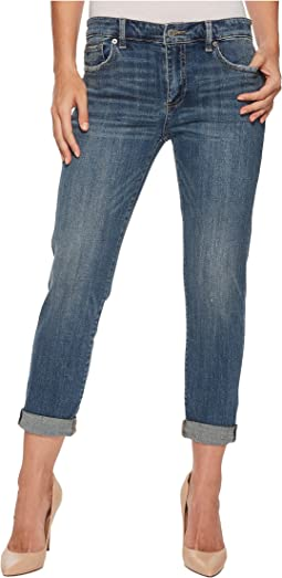 Sienna Slim Boyfriend Jeans in Azure Bay Clean