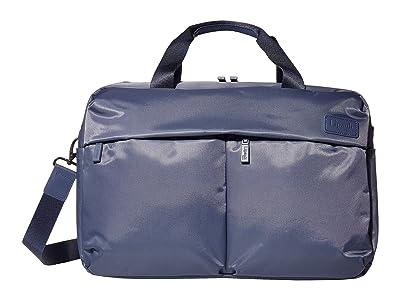 Lipault Paris City Plume 24 Hour Bag (Steel Blue) Handbags