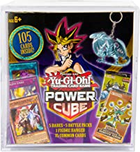 Yu-Gi-Oh! Cards Power Cube - 5 Rares   5 Battle Decks   A Figure Hanger   Factory Sealed Packs   75 Common Cards, (Model: ...