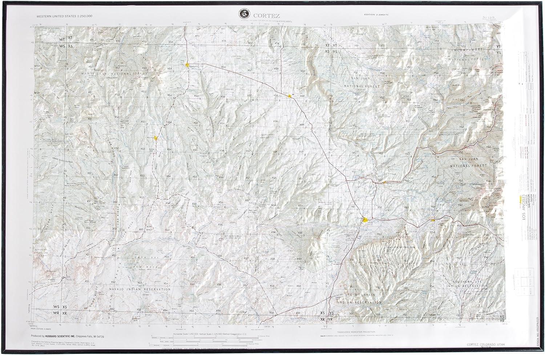 American Educational Cortez Farbeado Karte mit Schwarz Schwarz Schwarz Kunststoff Rahmen, 31–1 5,1 cm Länge x 21–1 5,1 cm Breite B005QEG92S   Deutschland Berlin  84fcdf