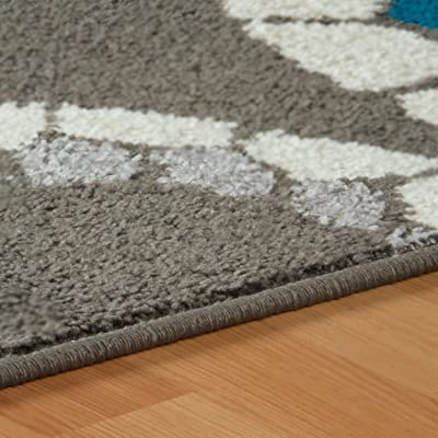 Ivory Christopher Knight Home CK-1B801 Kingsley Border Indoor Area Rug 1ft 10in X 3ft Black