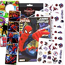 Bendon Intl Disney Favorite Characters Coloring Books for Kids with Stickers (Spiderman)