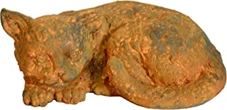"Michael Carr Designs 200153RUST Rusty Cat Liconfiber Statue, 16"""