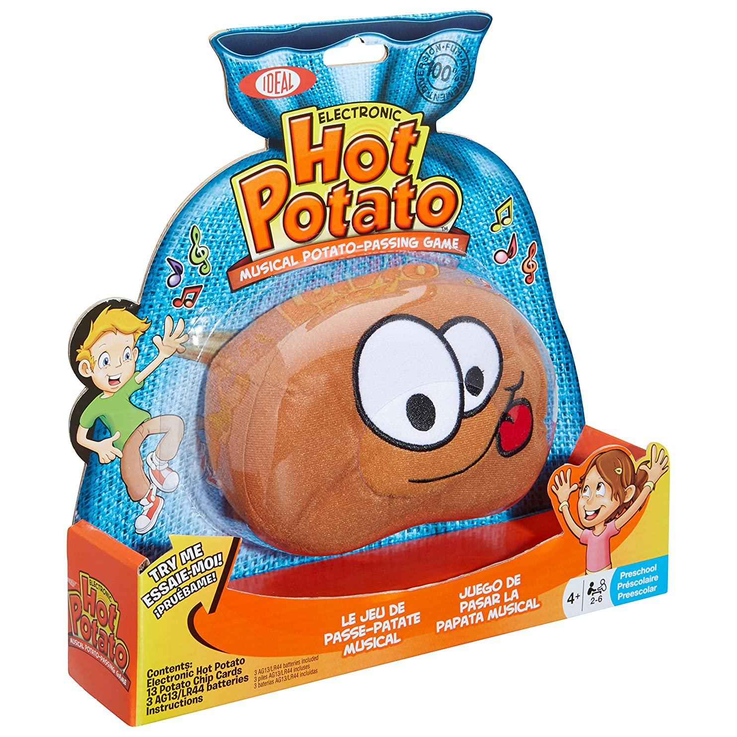 Ideal Hot Potato Electronic Musical Passing Game wdtotyplkad52
