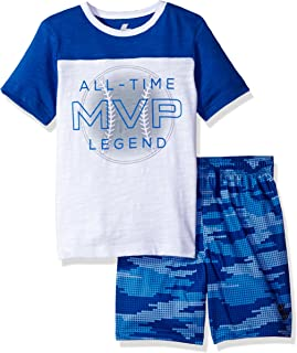 The Children's Place Baby Boys' Active Shorts and Tee Set