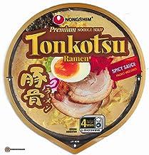 NongShim Premium Noodle Soup Tonkotsu Ramen 3.56 oz ( Pack of 6 )