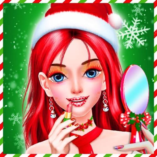 Christmas Makeup Salon Games : Christmas Girls