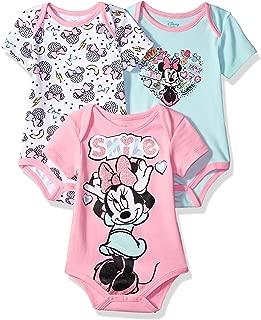 Disney Girls Minnie Bodysuits Cotton