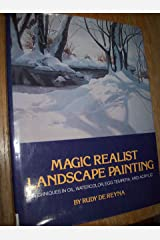 Magic Realist Landscape Painting Hardcover