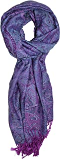 Ted and Jack - Luxe Classic Paisley Reversible Pashmina