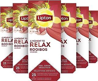Lipton Rooibos Thee - 6 x 25 zakjes