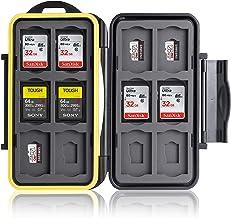 Ares Foto® Speicherkarten Schutzbox • Schutzhülle • Memory Card Case • Card Safe • Aufbewahrung & Transport für 12 SD und ...