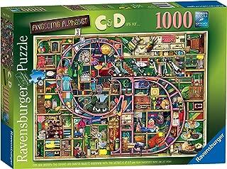 Ravensburger Colin Thompson - Awesome Alphabet C & D, 1000pc Jigsaw Puzzle