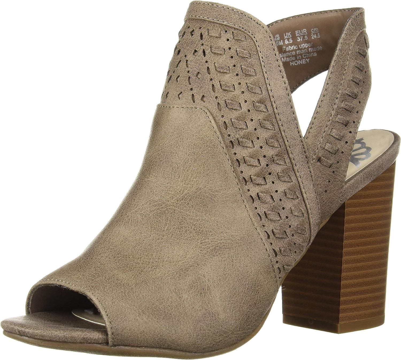 Fergalicious Womens Honey Heeled Sandal
