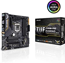 ASUS TUF Z390M-Pro Gaming (Wi-Fi) Motherboard LGA1151 (Intel 8th and 9th Gen) DDR4 DP HDMI M.2 Z390 Micro ATX USB 3.1 Gen2 (mATX)