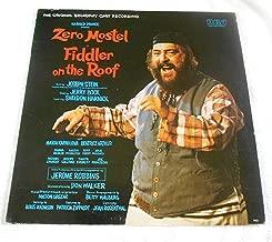 Zero Mostel Fiddler on the Roof (Broadway's Longest Running Musical) Record Album LP Vinyl
