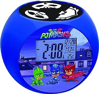 Lexibook PJ Masks Catboy Radio Projector Clock, Sound Effects, Battery-Powered, Blue/Black, RL975PJM