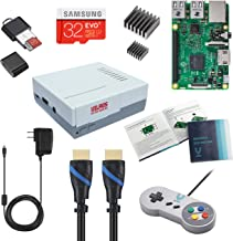 Vilros Raspberry Pi 3 RetroPie Arcade Gaming Kit with Classic USB Gamepad (Retro-X1)