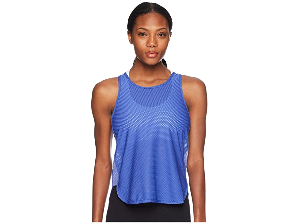 New Balance Determination Mesh Tank Top (Blue Iris) Women
