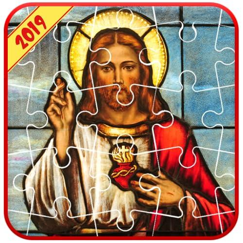 Jesus Bible Puzzle Jigsaw! - Brain Game