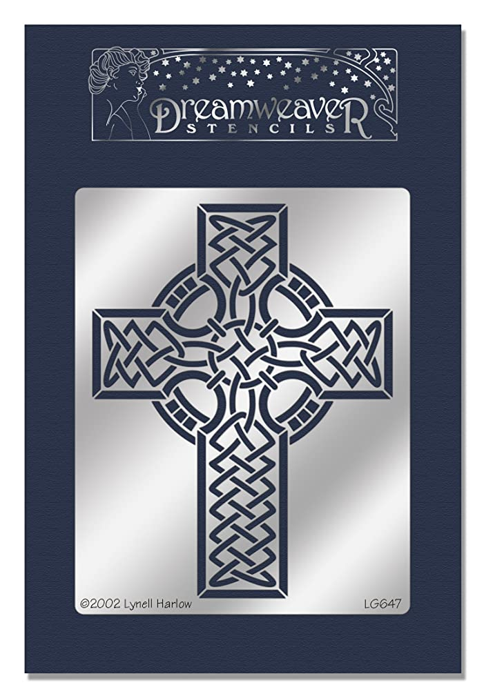 Stampendous Dreamweaver Metal Stencil, Celtic Cross