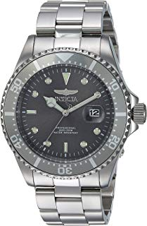 Invicta Men's Pro Diver Quartz Diving Watch with Stainless-Steel Strap, Silver, 14 (Model: 22050)