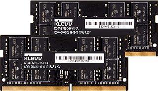 KLEVV ノートPC用 メモリ DDR4 2666 PC4-21300 16GB x 2枚 260pin 永久保証 KD4AGS88C-26N190D
