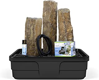 basalt column water feature kit
