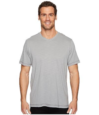 Tommy Bahama Portside Palms V-Neck T-Shirt (Bala Shark) Men