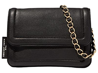 Marc Jacobs The Cushion Bag (Black) Handbags