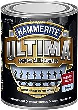 5379728 Hammerite ULTIMA metaalbescherming lak roest 750ml glanzend robijnrood RAL 3003