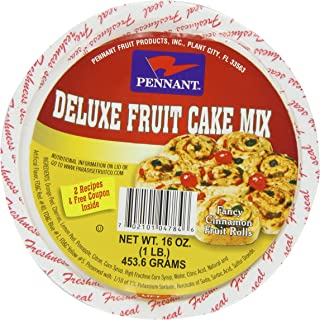 Pennant Deluxe Fruit Cake Mix, 16 Ounce