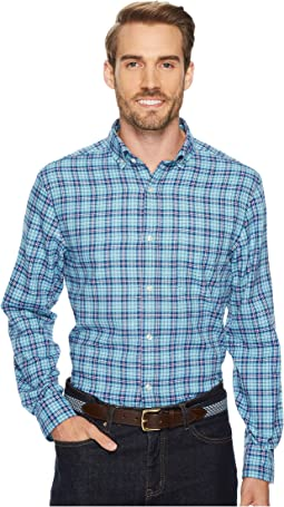 Vineyard Vines - Old Coast Road Performance Plaid Flannel Murray Shirt