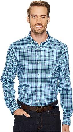 Vineyard Vines - Old Coast Road Performance Plaid Flannel Murray Shirt