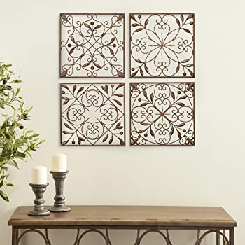 Authentic Wall Decor The Lakeside Collection Iron Wall Medallion