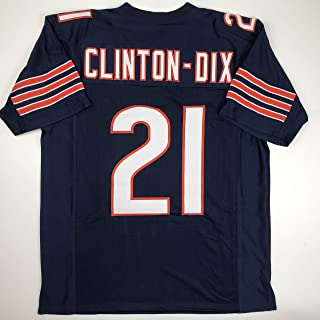 Unsigned HaHa Clinton-Dix Chicago Blue Custom Stitched Football Jersey Size Men`s XL New No Brands/Logos