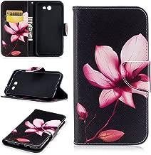 Samsung Galaxy J7 Case Wallet,J7 Prime Case Women j7 Phone case 2017 Galaxy J7 Perx Case Card Holder Folio Flip Kickstand Hybrid Full Body Protector Cases for Galaxy J7 2017/J7 Sky Pro/J7 V Pink