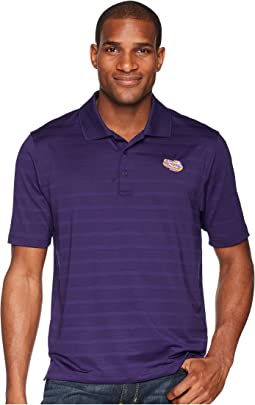 LSU Tigers Textured Solid Polo
