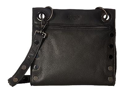 Hammitt Tony Med (Black/Gunmetal) Handbags