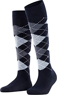 BURLINGTON Women's Whitby Knee-High Socks - Warm And Soft, Multiple Colours, One size only (UK 3.5-7 Ι EU 36-41), 1 Pair -...