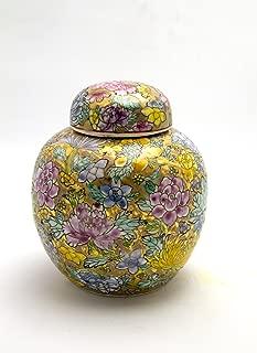 Chinese Porcelain Pearl Ginger Jars 6