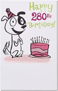 American Greetings Funny 40th Birthday Card (Dog Years)