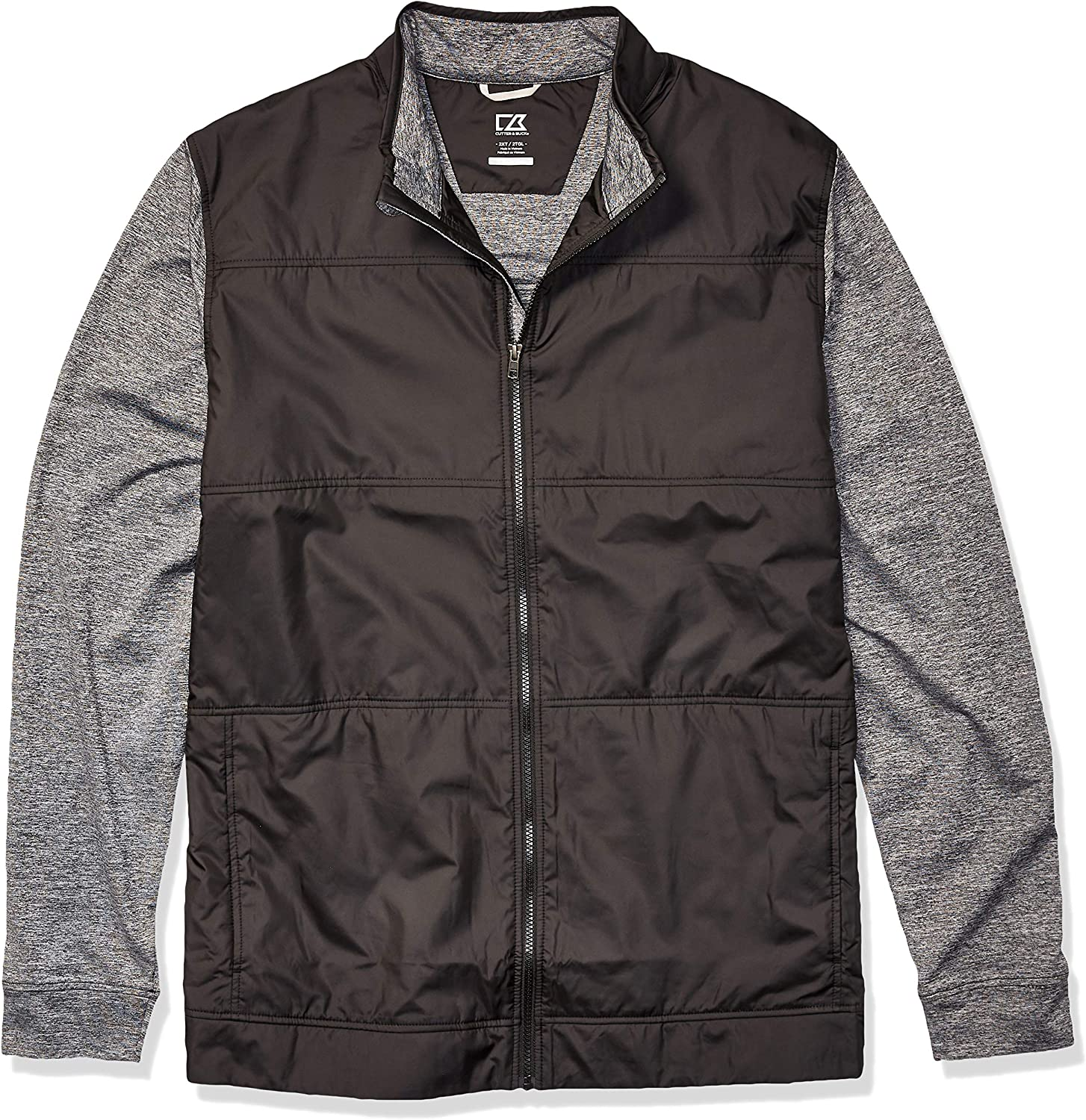 Cutter Buck Men's Moisture Wicking Drytec Ranking TOP6 Stealth Heathered Fu Now on sale