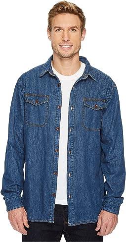 Pilot Peak Flannel Lined Denim Shirt