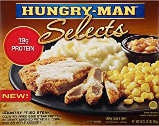 Hungry-Man Selects, Country Fried Steak, 16 oz (frozen)