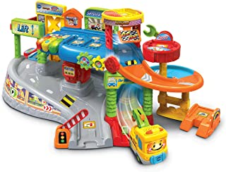 Vtech Toot-Toot Drivers Garage - Interactive car Garage playset for Kids - 512703