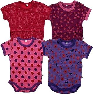Pippi 4er Pack Baby Jungen Body mit Aufdruck Farbe: Dunkelblau 3820 Gr/ö/ße: 86 Alter 12-18 Monate Kurzarm