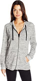 Women's French Terry Full-Zip Hoodie Sweatshirt