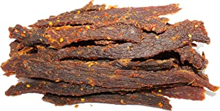 People's Choice Beef Jerky - Old Fashioned - Hot & Spicy - Sugar-Free, Carb-Free, Keto-Friendly - Dry Texture - 1 Pound, 1 Bag