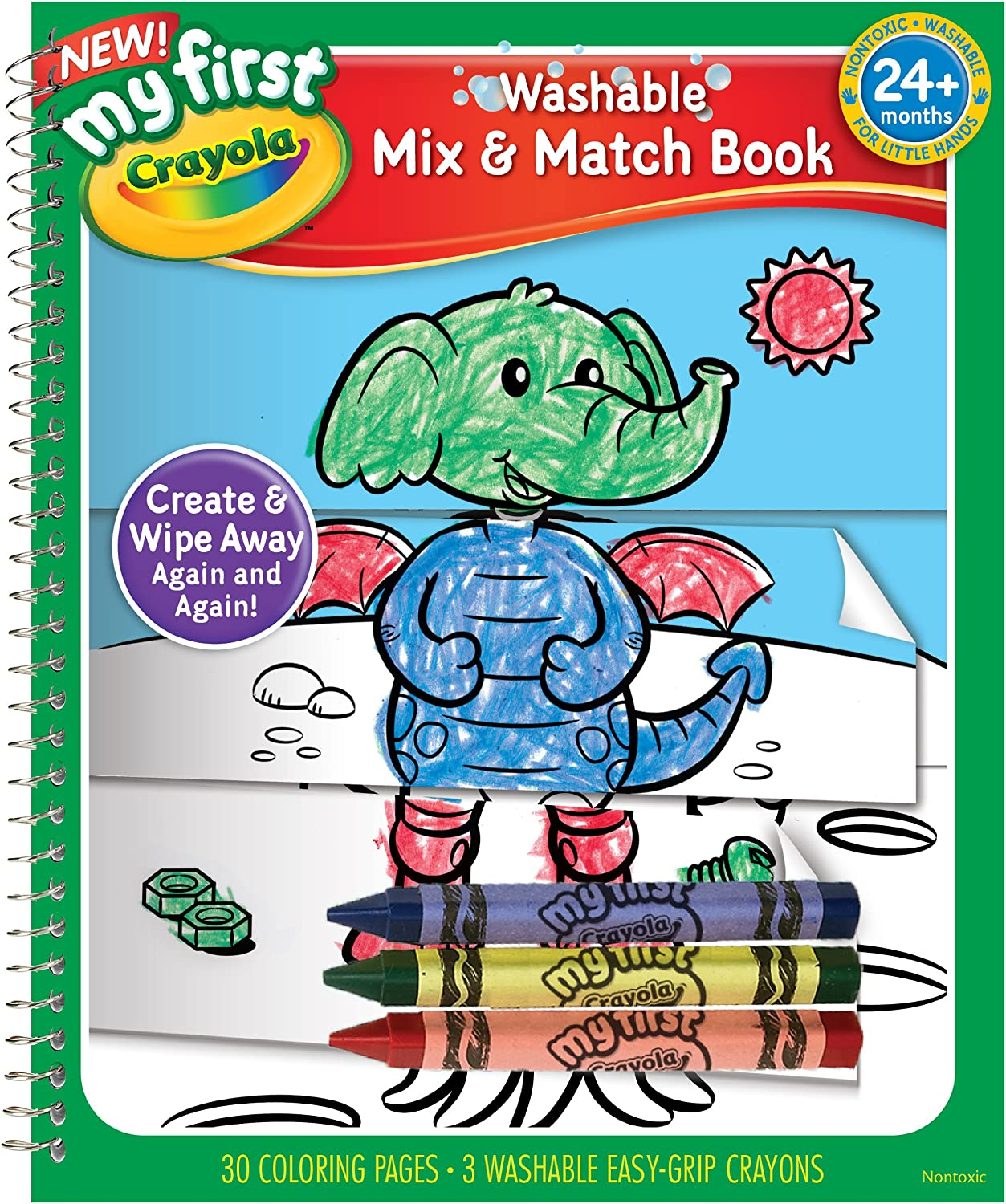 Crayola Sale item My First Mix Coloring Max 50% OFF Book Match and